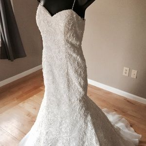 Dresses & Skirts - Hand beaded wedding dress